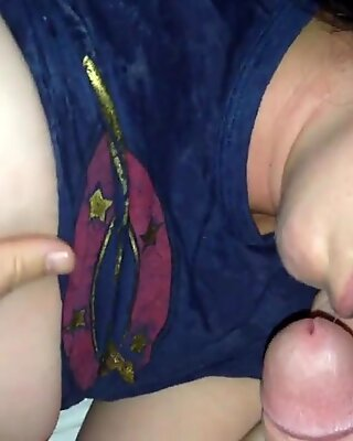 Cum on Wifes Face After a Bit of Wine