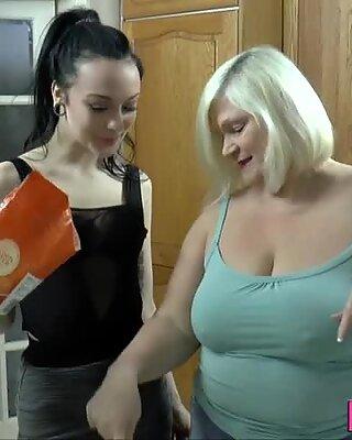 Pussy loving granny