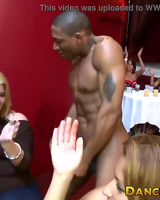 Amateur babes licking cream off of strippers big cocks