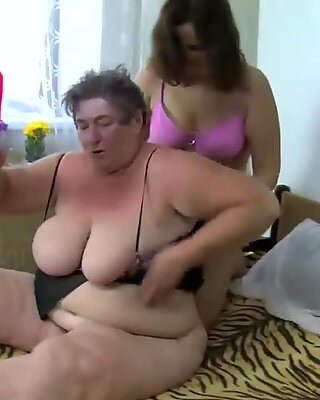 Chubby  Babes Fucked by a Horny Man