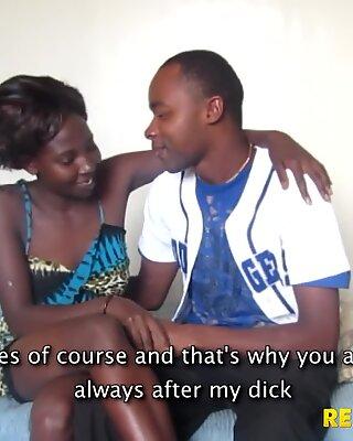 Real African Couple Hardcore Fucking