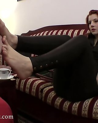 goddess victoria foot fetish FFS