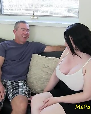 Mommy Joins In on Daddy and Daughter Time