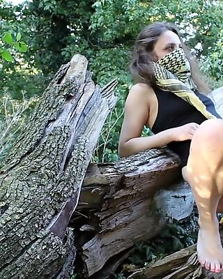 LN  s#15: Slutty Little Grey Riding-hood fingered and fucked.Option B