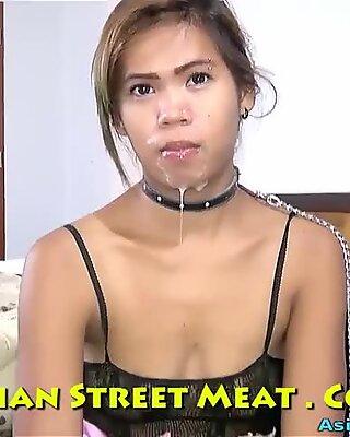 Delightful Ass Fucking Sperm Dribble In Thailand