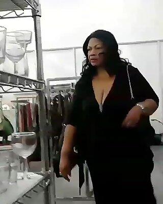 Sexy grandma nice titties