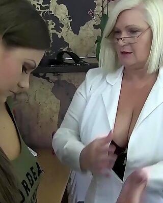 Dr Lacey and Nymphomaniac Tina Kay