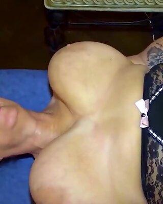 Camilla Creampie goes to work on mature BBW Busty Kim