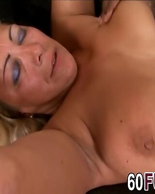 BBC romancing at couch spooned sex