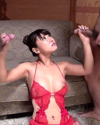 Japan Hand Job Porn Session With Shinohara