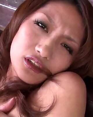 Riina Fujimoto loads pussy with cock